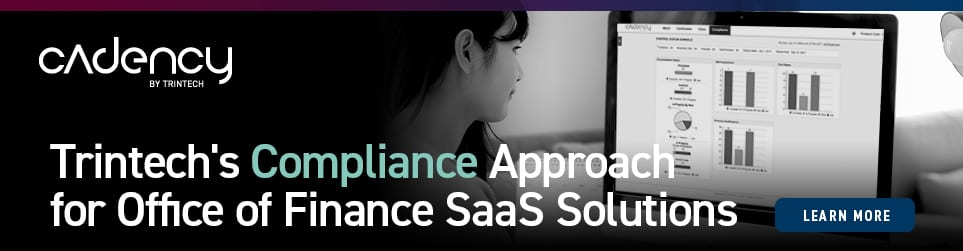 Overcome cybersecurity challenges. Discover Trintech's approach to compliance for finance SaaS solutions.
