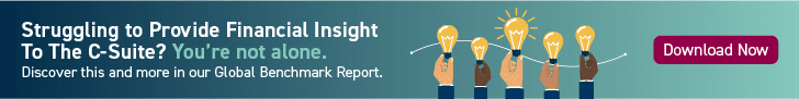 Struggling to Provide Financial Insight to the C-Suite? You're Not Alone. Discover this and more in our Global Benchmark Report. Download CTA